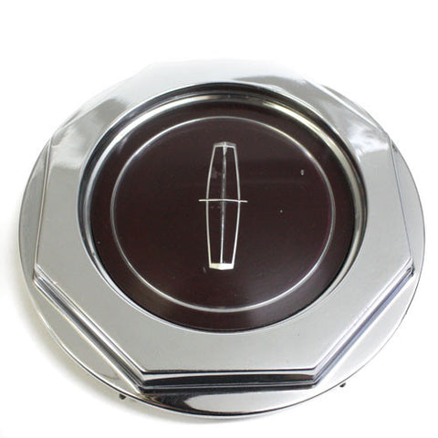 LINCOLN WHEEL OEM CENTER CAP CHROME USED