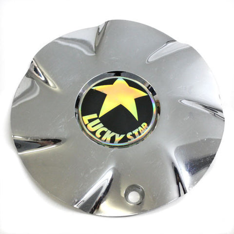 LUCKY STAR WHEEL CHROME CENTER CAP FWD #1170-0