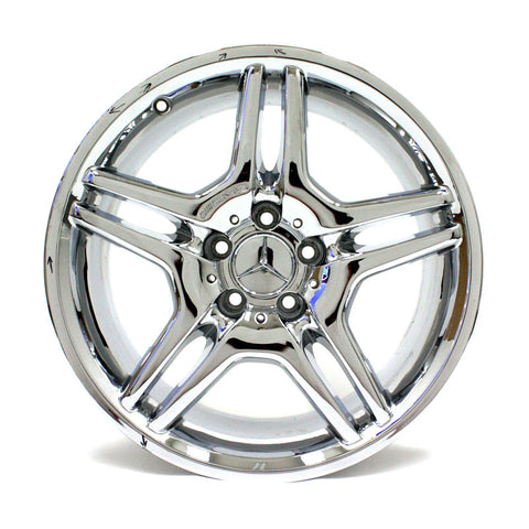 "18"" MERCEDES BENZ AMG CLS500 CLS550 05 06 07 08 CHROME WHEEL OEM 65373"