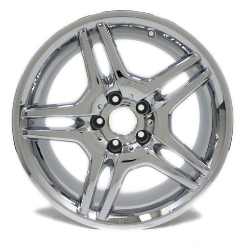 "18"" MERCEDES BENZ AMG E55 E320 E350 E500 03 04 05 06 NEW CHROME WHEEL OEM 65317"