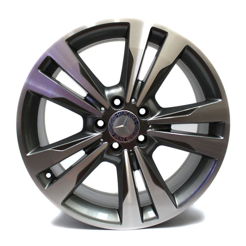 "18"" MERCEDES BENZ E350 2014 2015 2016 MACHINE FACE WHEEL OEM 85397"