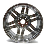 "18"" MERCEDES BENZ SL CLASS CHROME WHEEL 6 SPLIT SPOKE"
