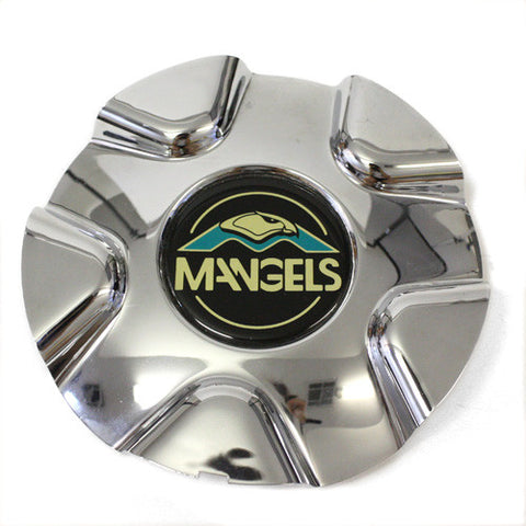"13"" AND 14"" MANGELS WHEEL CHROME CENTER CAP PDAC7638"
