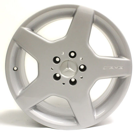 "18"" Mercedes Benz S500 S600 CL500 CL600 03 04 05 06 Silver Wheel OEM 65310"