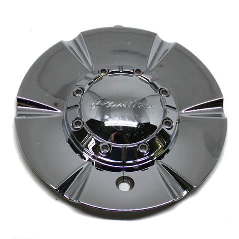PANTHER WHEEL CHROME CENTER CAP # CAPF-283 USED