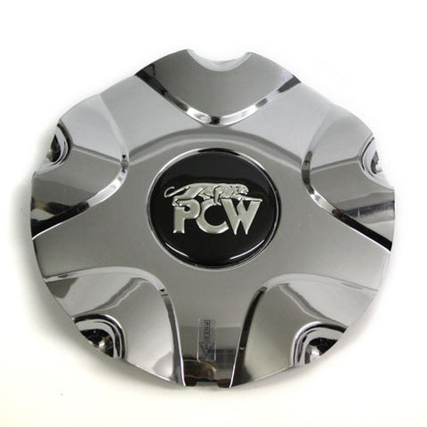 PCW PANTHER WHEEL CHROME CENTER CAP #EMR-165 NEW