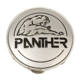 PANTHER WHEELS CENTER CAP SILVER NEW