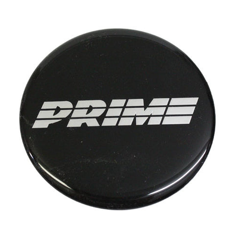 PRIME WHEELS EMBLEMS BLACK CAR OR TRUCK 70mm NEW