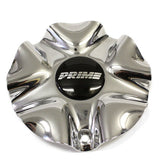 PRIME WHEEL STYLE 196 CHROME CENTER CAP 5 SPLIT #9600-0