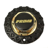 PRIME VOGUE WHEEL MESH CENTER CAP HEX NUT 93 GOLD BLACK PW205P