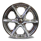 "20"" SPORZA SAGA WHEEL CHROME NEW 20X8.5"