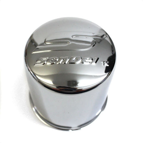 SENDEL WHEEL CENTER CAP CHROME NEW