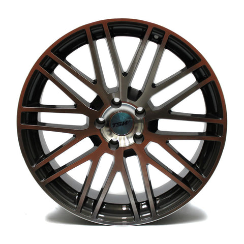 "20"" TSW WHEELS CROFT SERIES GUNMETAL NEW 20X8.5"