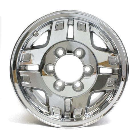 "15"" WHEELS TOYOTA 4RUNNER 1990 1991 1992 1993 1994 NEW CHROME OEM 69305 (4)"