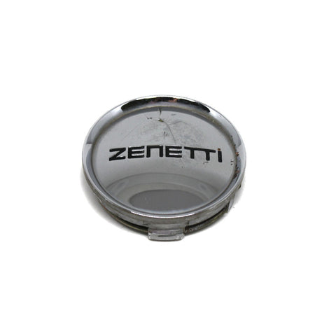 ZENETTI WHEEL CHROME CENTER CAP # C-157 USED