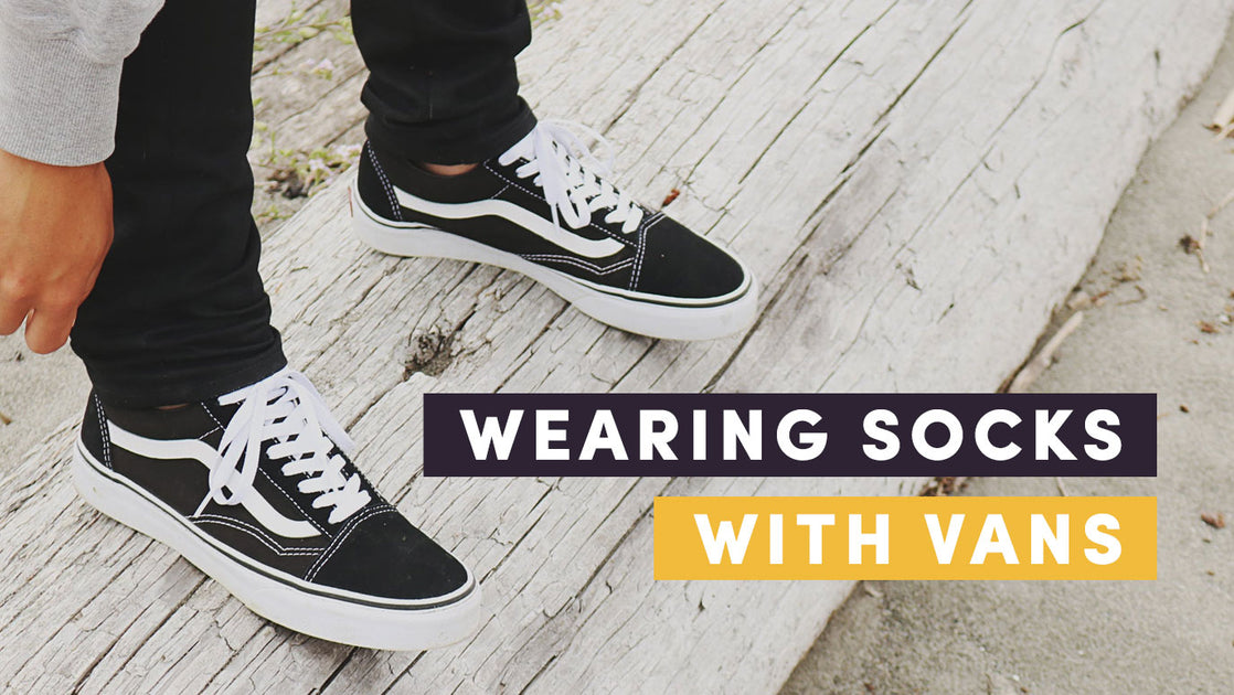 Implacable Psiquiatría Consultar  How to Wear Socks with Vans - Best Style Guide for 2020 – Soxy.com