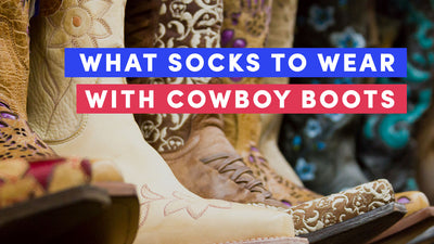 Wearing Socks With Cowboy Boots - Best Style Guide for 2021