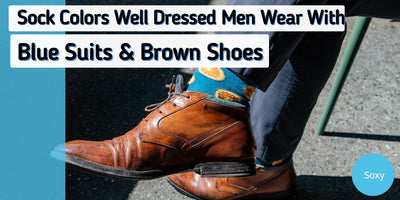 What Color Socks Go With a Blue Suit and Brown Shoes - A Style Guide