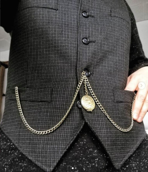 how to wear a pocket watch with jeans