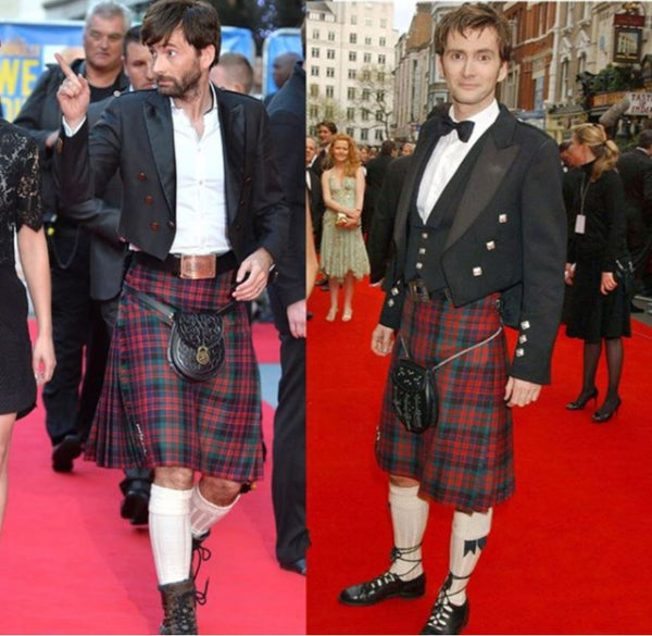 what to wear with a kilt