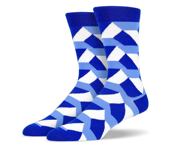 Mens Trapezoid Shape Socks