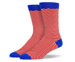 Mens Micro Striped Socks
