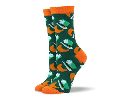 Womens St. Patrick's Day Dress Socks