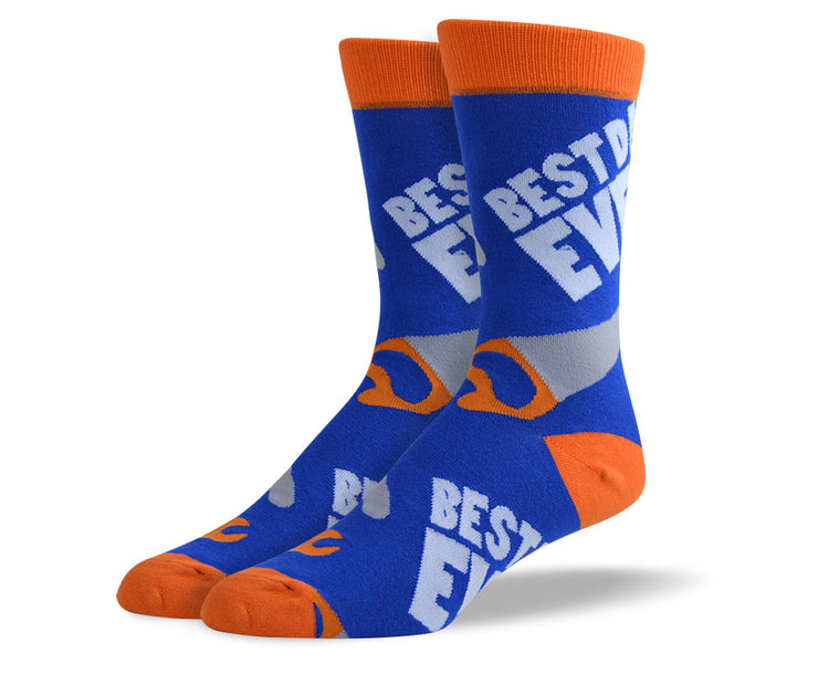 Mens Fathers Day Socks - Best Dad Ever