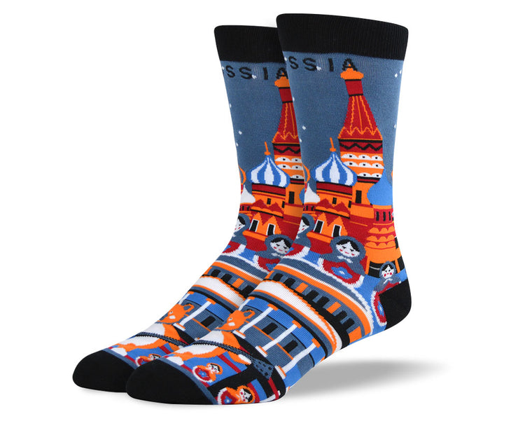 Men's Russia Dress Socks