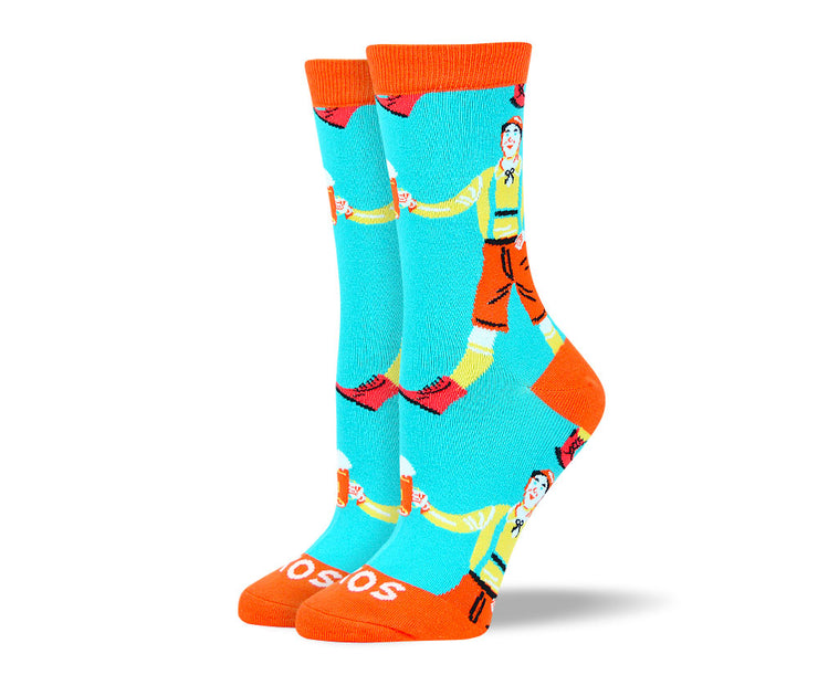 Women's Fun Oktoberfest Beer Socks