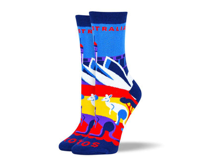 Women's Awesome Australia Dress Socks
