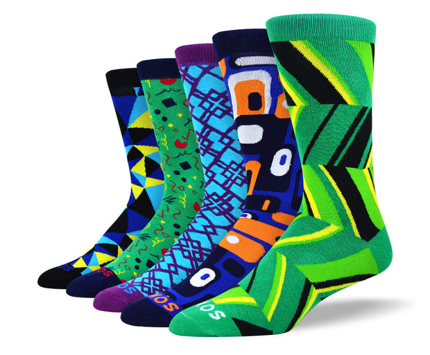 Men's Cool Novelty Socks Bundle