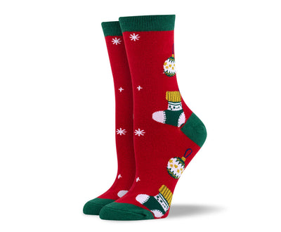 Women's Christmas Ornaments Socks