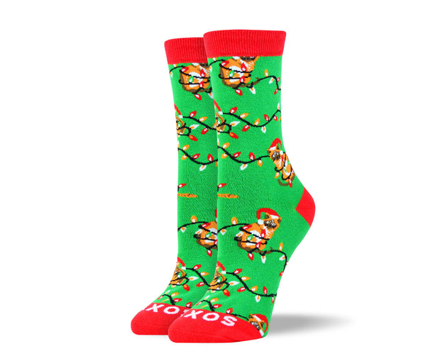 Women's Christmas Socks Bundle - 5 Pairs