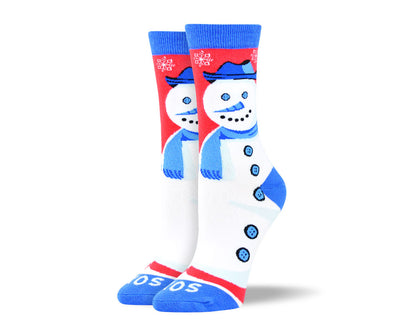 Women's Christmas Socks Snowman
