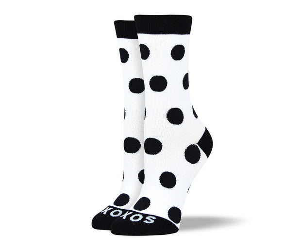 Women's Cool Black & White Sock Bundle - 6 Pair