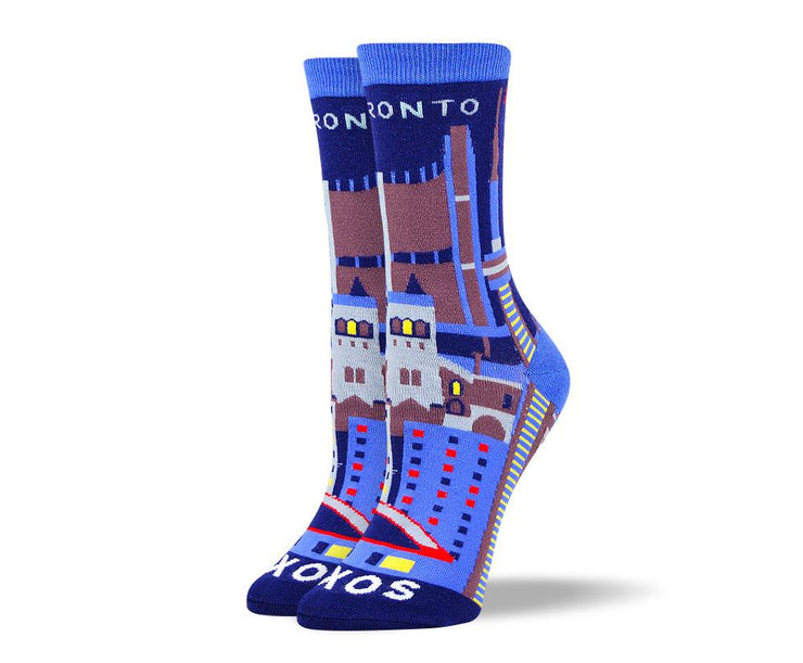 Women's Crazy Toronto Dress Socks