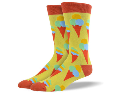 Mens Ice Cream Socks