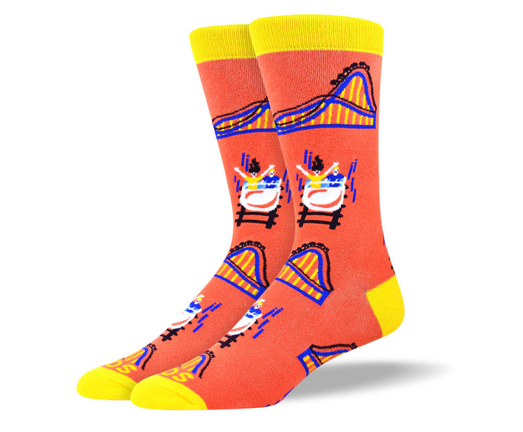 Men's Fun Roller Coaster Socks