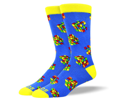Men's Cool Rubik's Cube Socks
