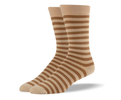 Men's Brown Stripes Socks