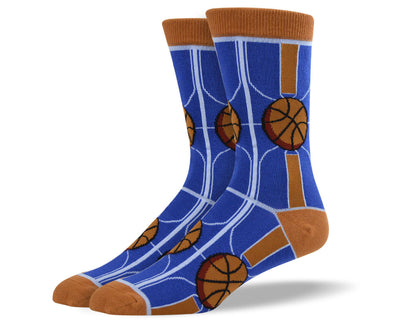 Mens Court Basketball Socks