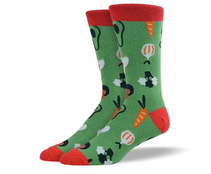 Mens Veggies Socks