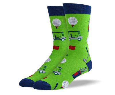 Men's Pattern Golf Socks