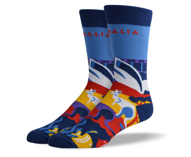 Men's Australia Dress Socks