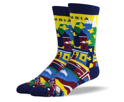 Men's Colombia Dress Socks