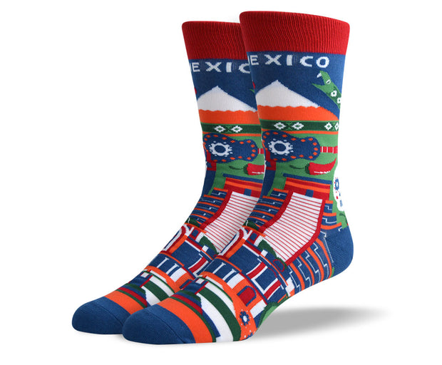 Men's Mexico Dress Socks