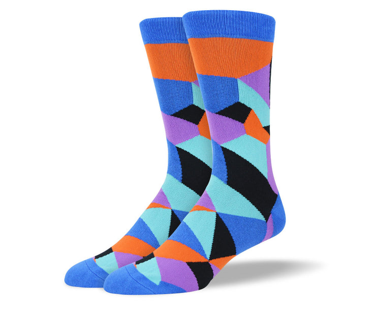 Men's Blue Novelty Socks