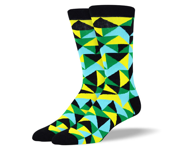 Men's Bright Novelty Socks