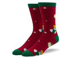 Men's Christmas Ornaments Socks